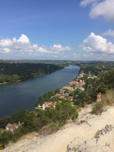Mt. Bonnell overlooking parts of Austin- what a view!